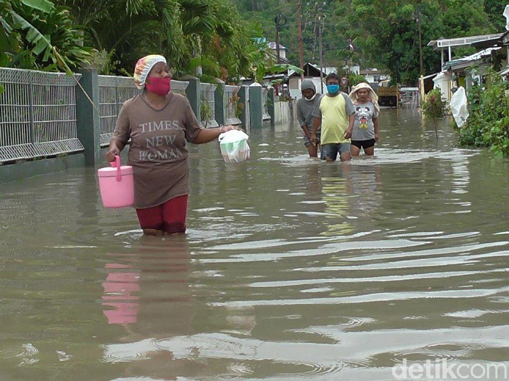 Sungai Bone di Gorontalo Meluap, Permukiman Warga Terendam