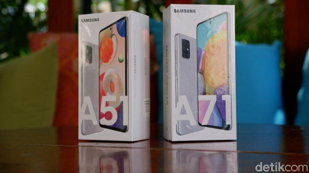 Galaxy A51 dan A71: Warna dan Fitur Baru, Harga Rp 5 Juta