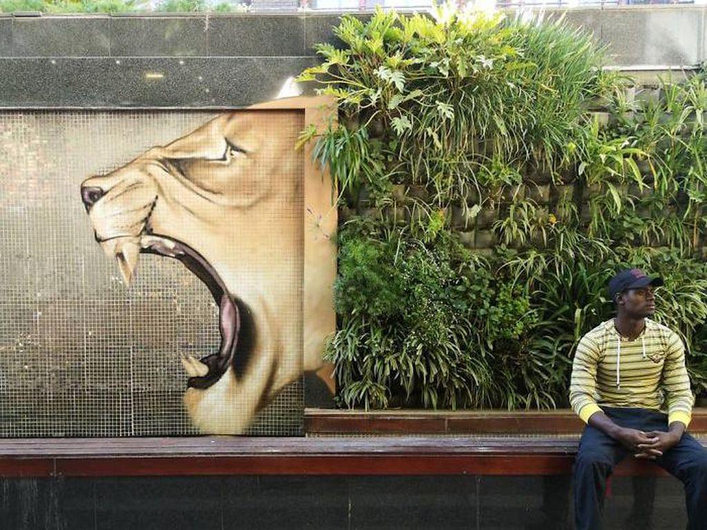 Foto: Aneka Grafiti yang Bisa Pas Banget!
