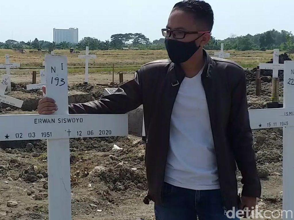 Jenazah Ayah Pengacara Surabaya Akan Dipindahkan dari Makam COVID-19 Selasa Depan