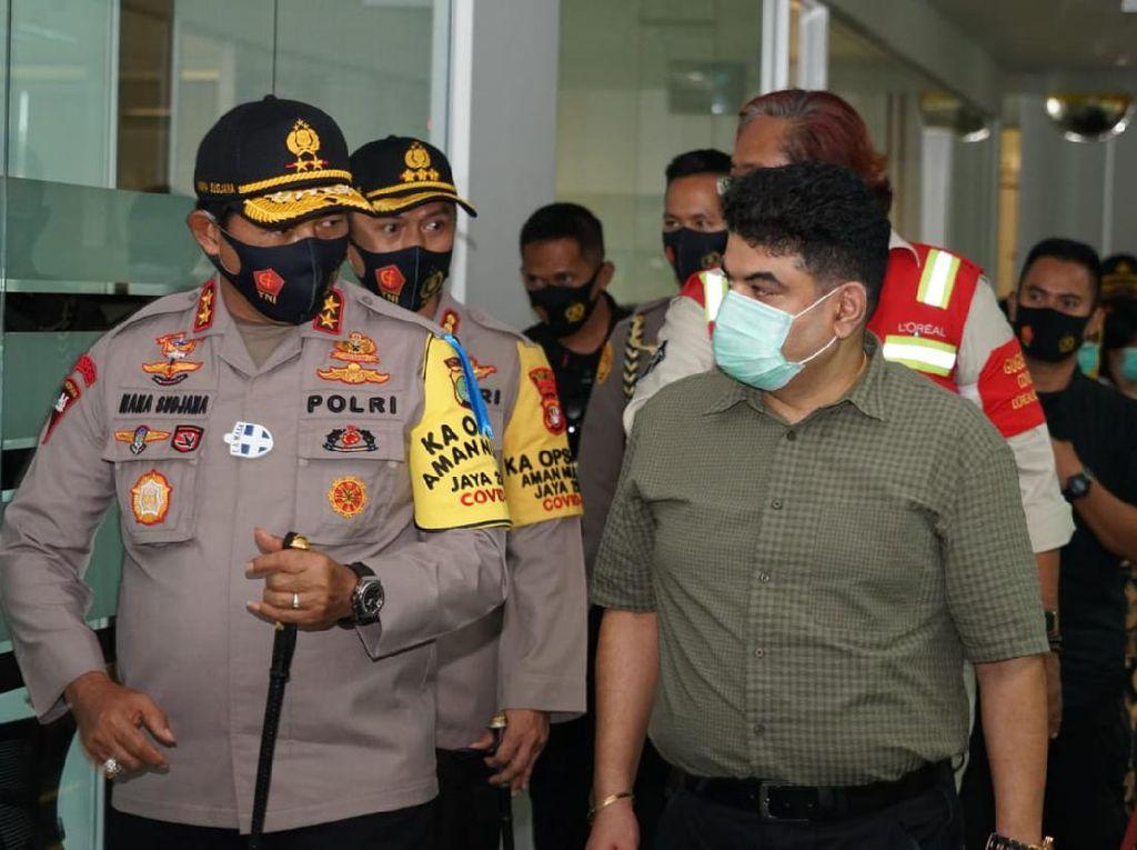 Kunjungi 2 Pabrik di Bekasi, Kapolda Cek Protokol Kesehatan