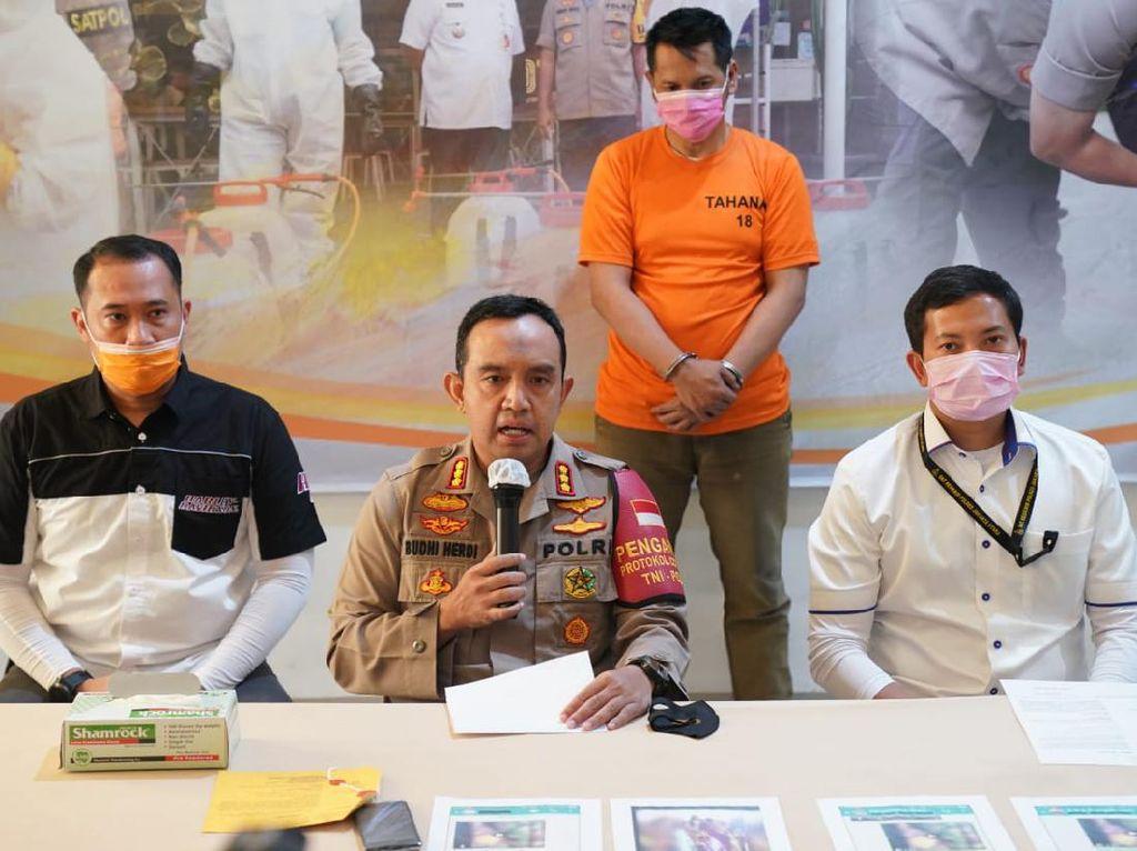 Polisi Tangkap Penyebar Isu Tentara China Ngelaundry di Jakarta Utara