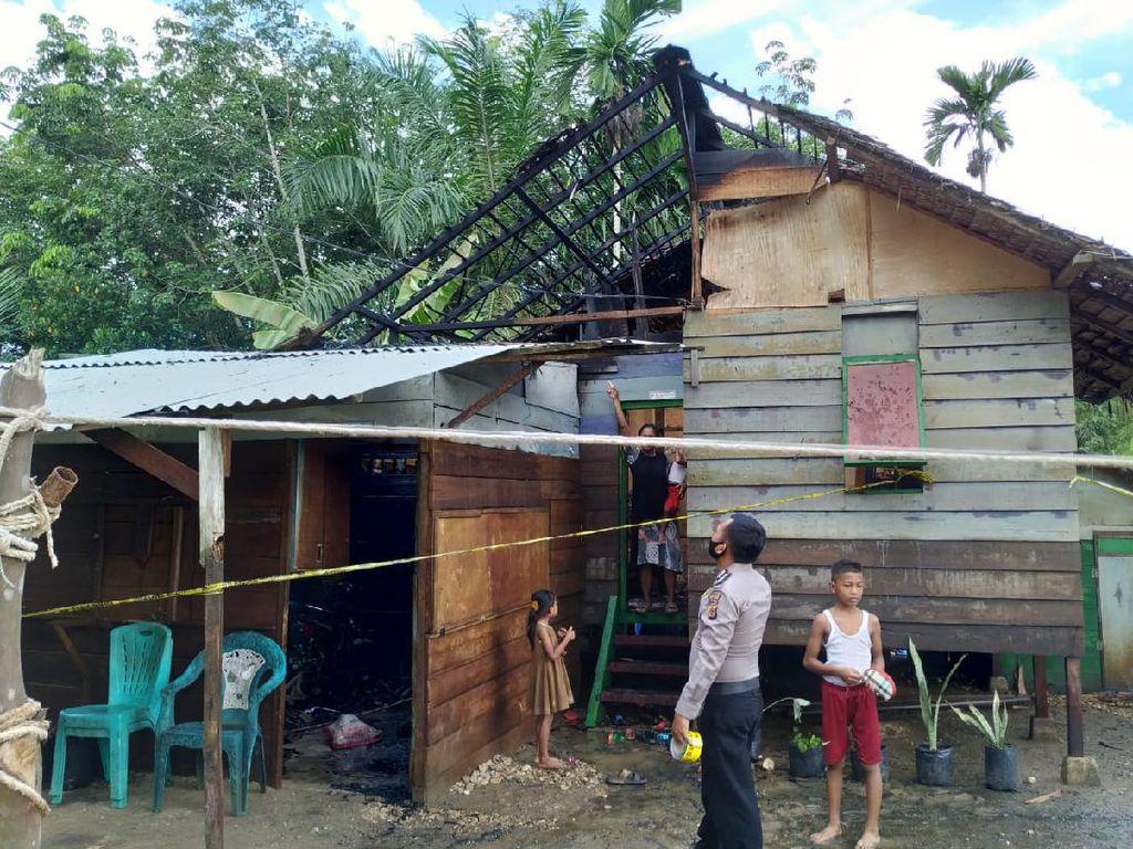 Diduga Pengaruh Narkoba, Nelayan di Aceh Bakar Rumah Kakak Kandung