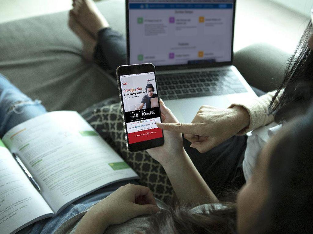Paket Data Murah 10 GB Rp 10 untuk Belajar Online dari Telkomsel