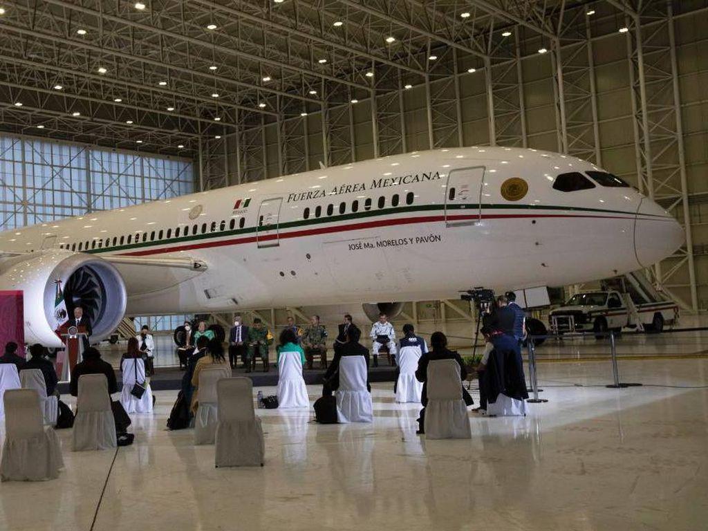 Foto: Pesawat Jet Mewah Presiden Meksiko yang Nggak Laku-laku