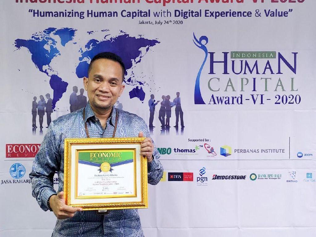 Unggul Adaptasi Digital, PGN Raih 3 Penghargaan Human Capital Award
