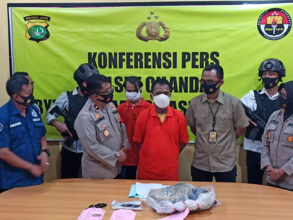 Modus Pencurian Incar Motor yang Dijual Online, 2 Pria di Jaksel Ditangkap