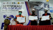 Selesai Dibangun, Venue Akuatik PON XX Papua Telah Disertifikasi FINA