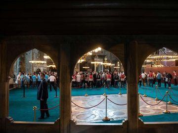 Potret Hagia Sophia Setelah Menjadi Masjid