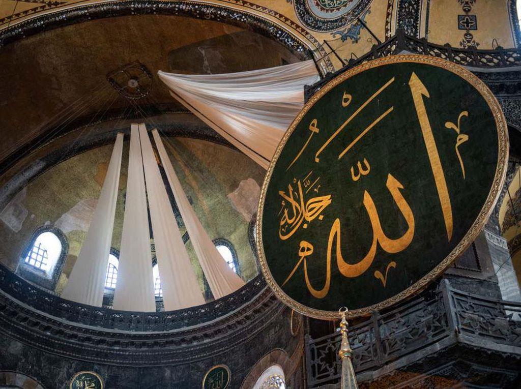 Muazin di Masjid Hagia Sophia Meninggal Dunia