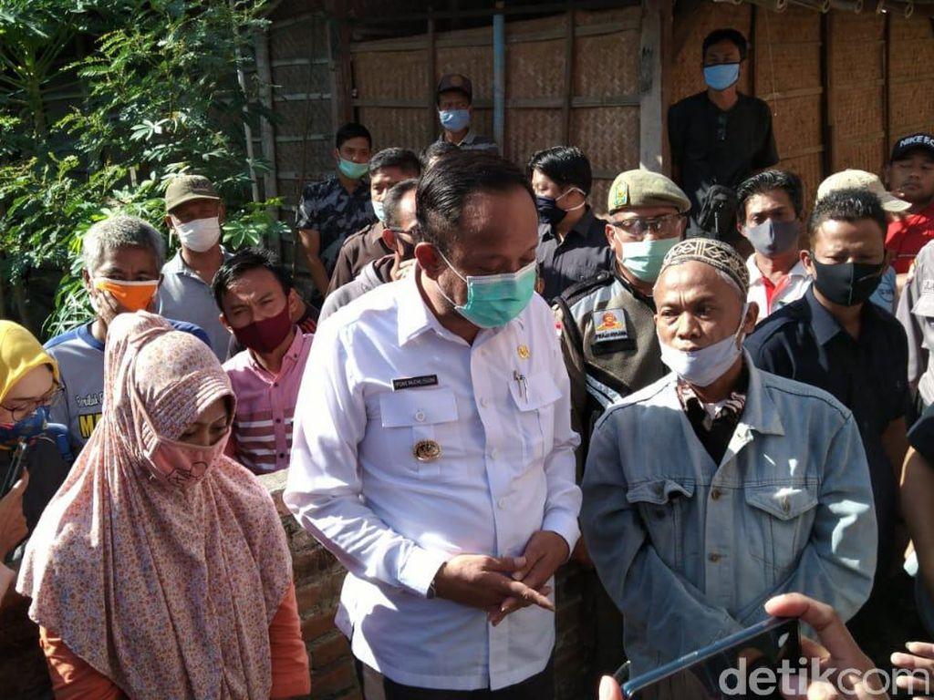 Kasus Pagar Tembok Blokade Rumah, Bupati Ipong Damaikan Wisnu dan Mistun