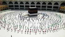 Tonton Sekarang! Live Streaming Haji 2020 dengan Social Distancing