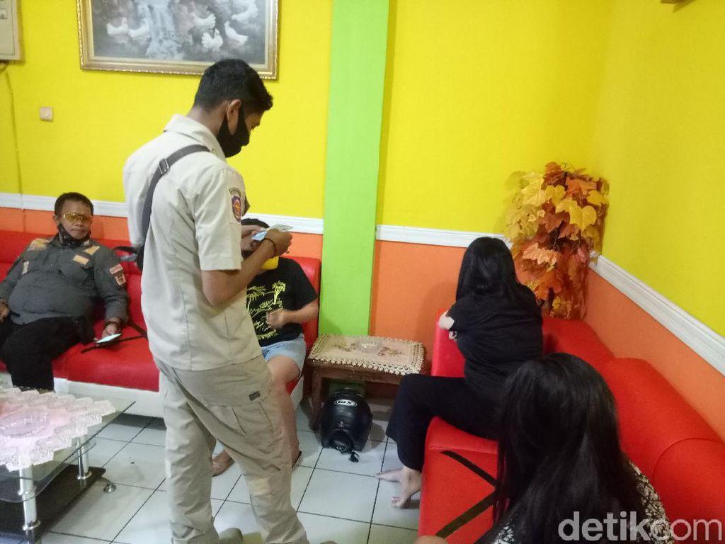 Razia Panti Pijat, Gugus Tugas COVID-19 Makassar Ricuh dengan Terapis
