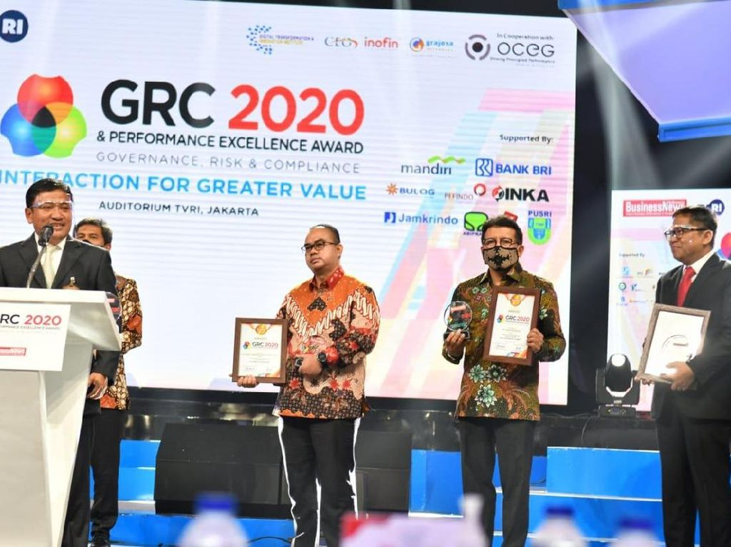 Sukses Kelola Perusahaan, Jasa Raharja Sabet 2 Penghargaan GRC