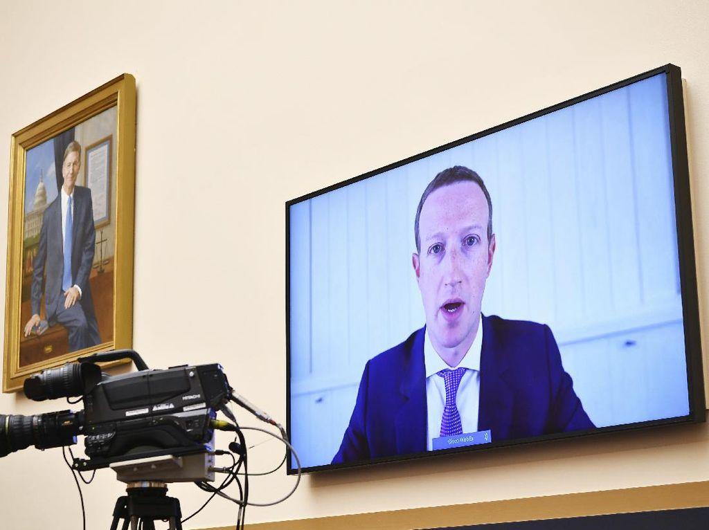 Bos Facebook dan Twitter Bicara soal Disinformasi dalam Pilpres AS