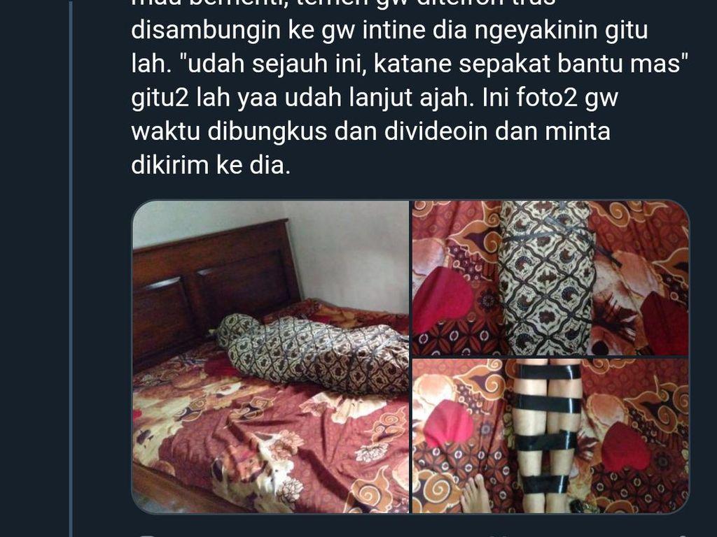 Seks Aneh Fetish Pocong Mahasiswa Jatim, Mummification Bondage?
