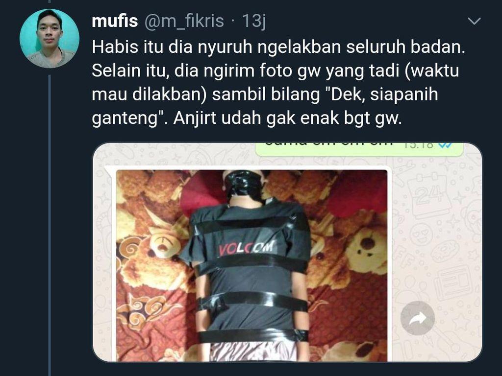 Unair Sebut Keberadaan Predator Fetish Pocong Ada di Kalimantan