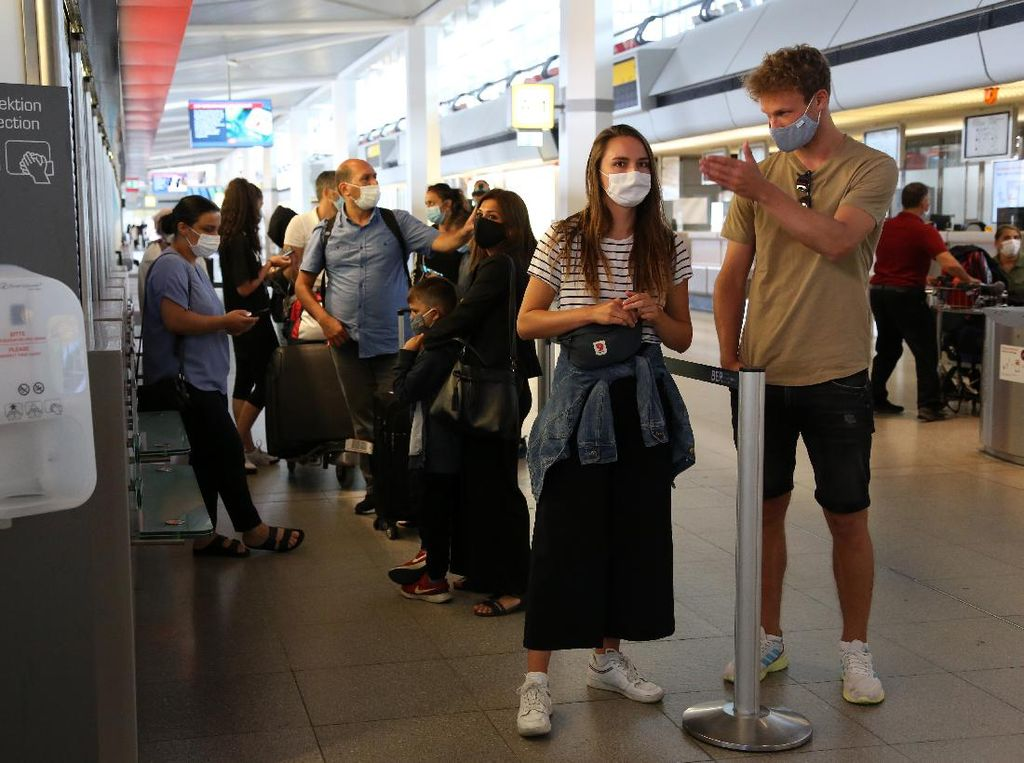 Jerman Gelar Tes Corona Berskala Besar di Bandara