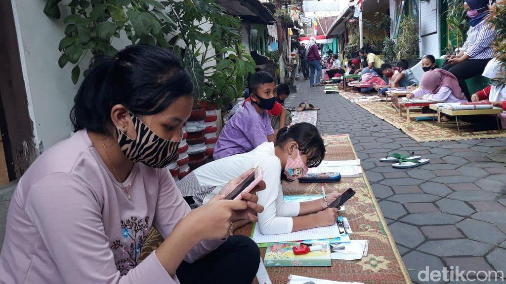 Kampung WiFi di Yogyakarta, Bantu Anak Belajar Online