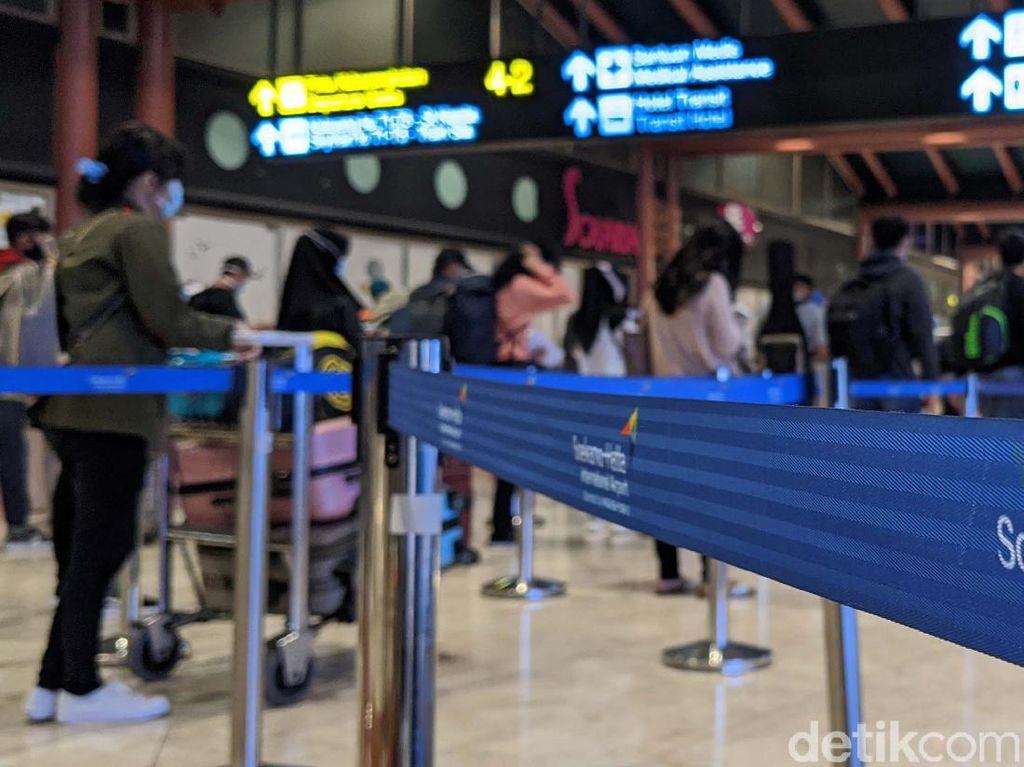 H-1 Idul Adha, Penumpang di Bandara Soetta Meningkat