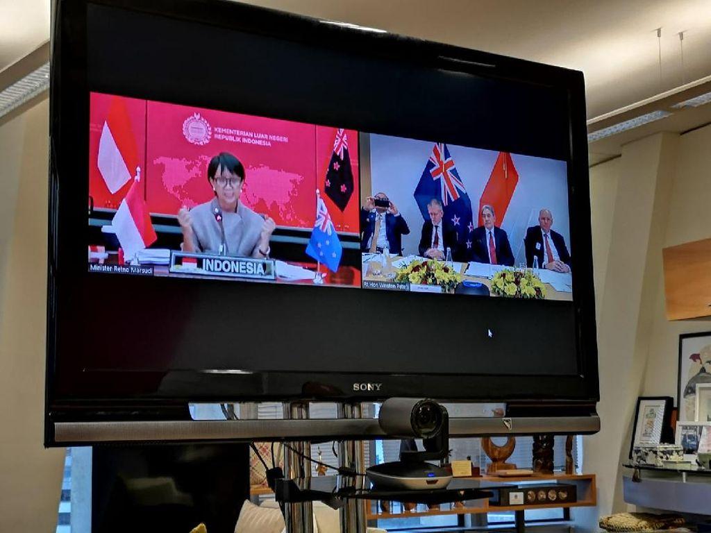 Indonesia dan Selandia Baru Jalin Kerja Sama di Berbagai Bidang