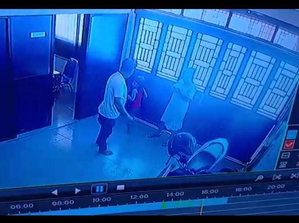 Video Pukuli-Tendang Istri Viral, Suami di Deli Serdang Ditangkap Polisi