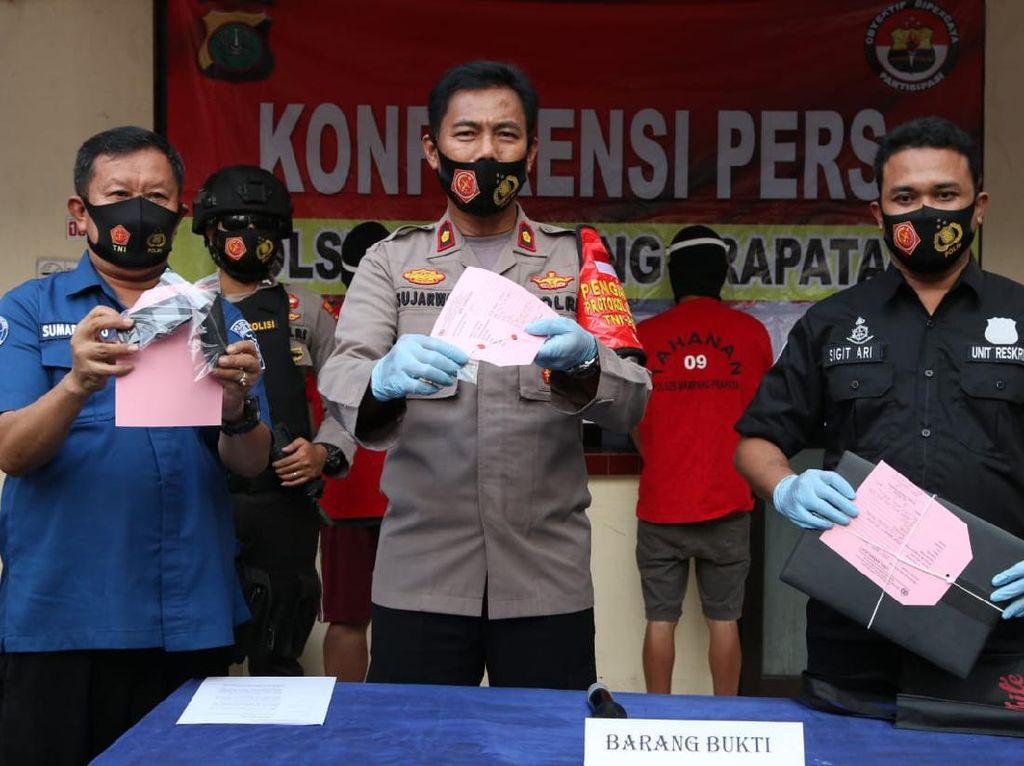2 Pencuri Modus Gembos Ban di Mampang Prapatan Jaksel Diringkus Polisi