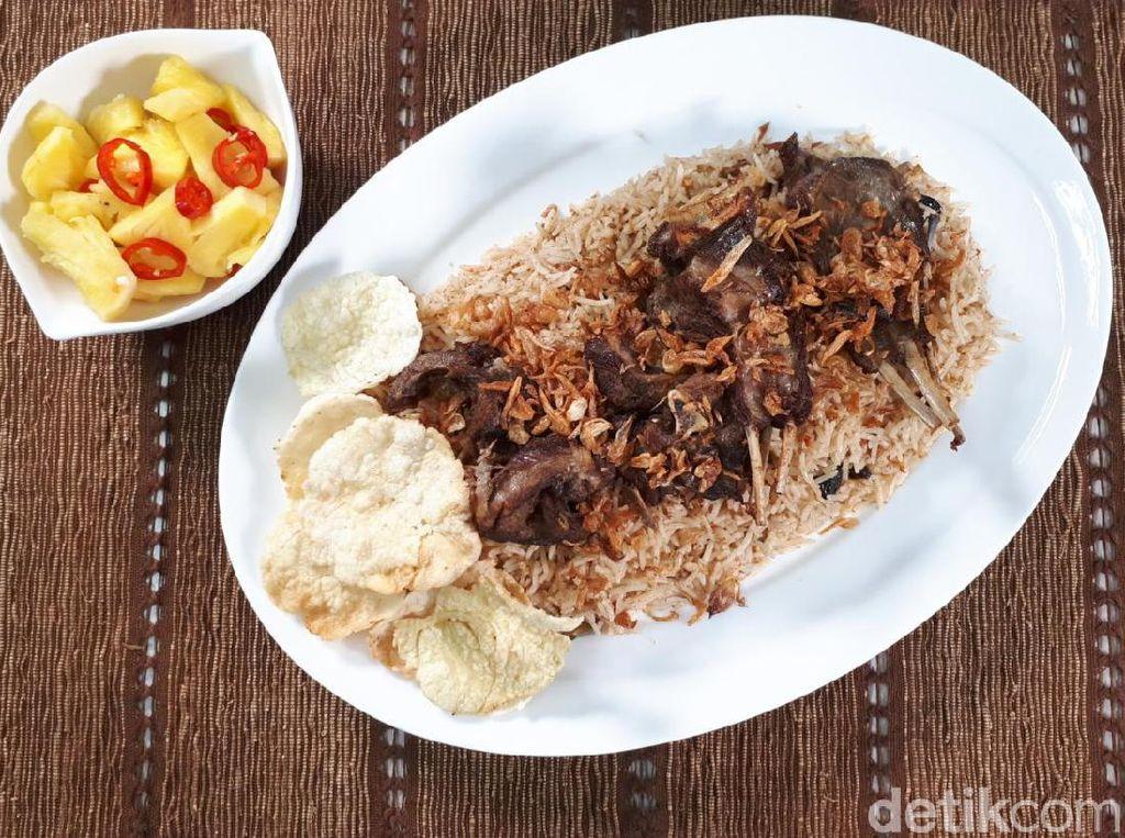 Resep Nasi Kebuli Kambing Praktis Pakai Rice Cooker