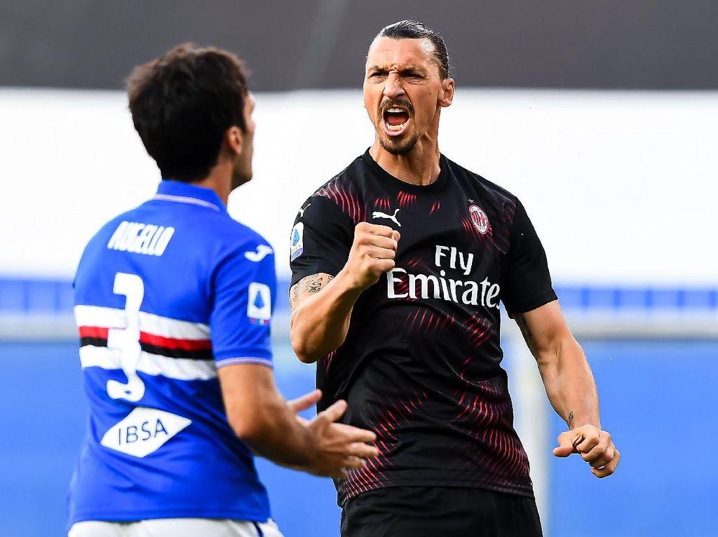 Zlatan Ibrahimovic Penguasa Kota Milan