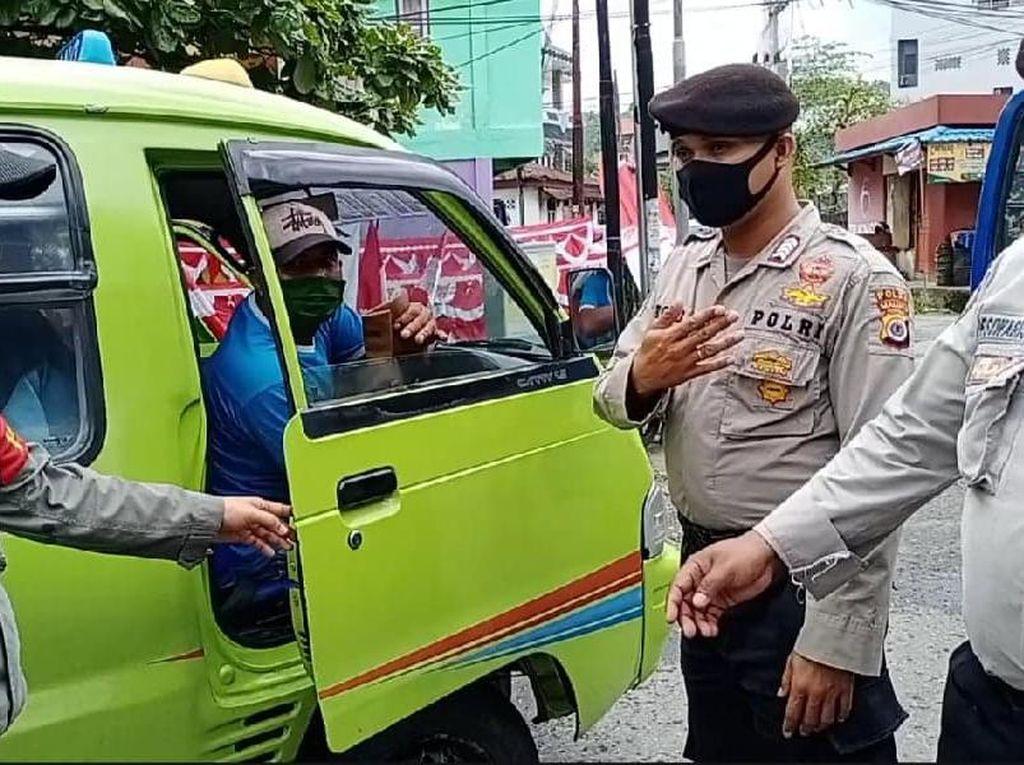 Di Ambon, Angkot Angkut Lebih dari 6 Penumpang Didenda Rp 250 Ribu