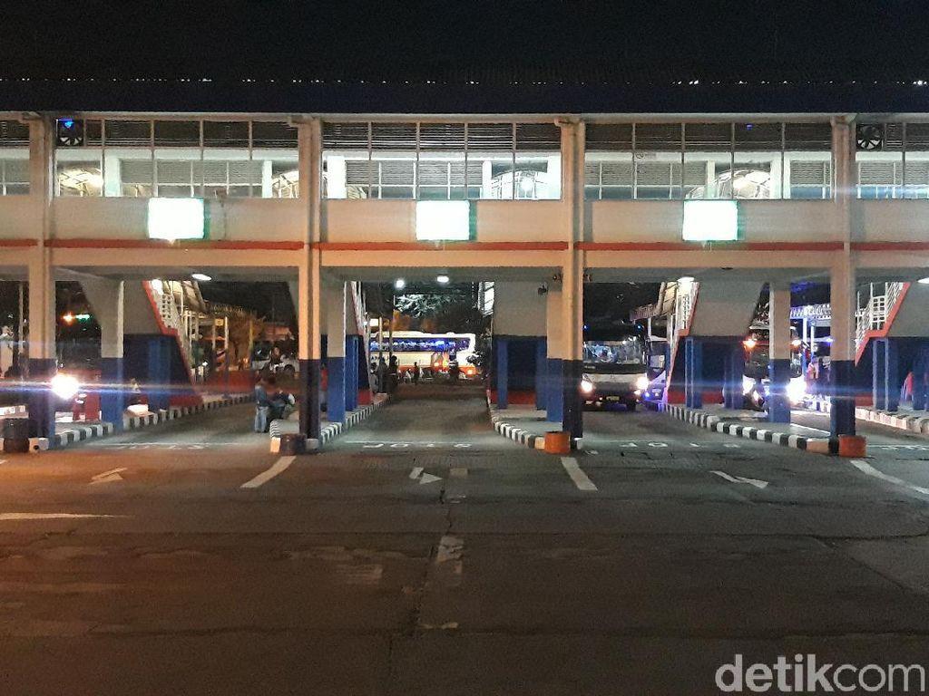 Mudik Idul Adha, Terminal Purabaya Terpantau Sepi