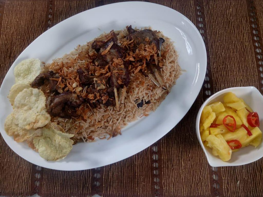 Sajian Maknyus Idul Adha: Nasi Kebuli Kambing