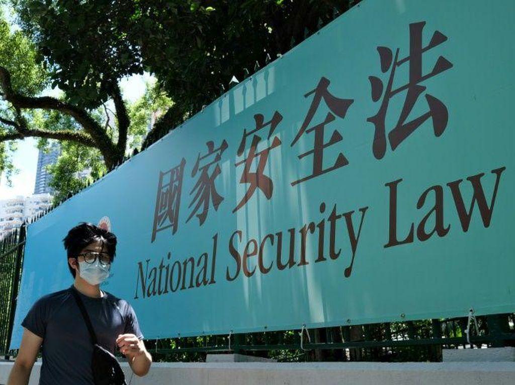 4 Aktivis Hong Kong Ditangkap, Dijerat dengan UU Keamanan Baru