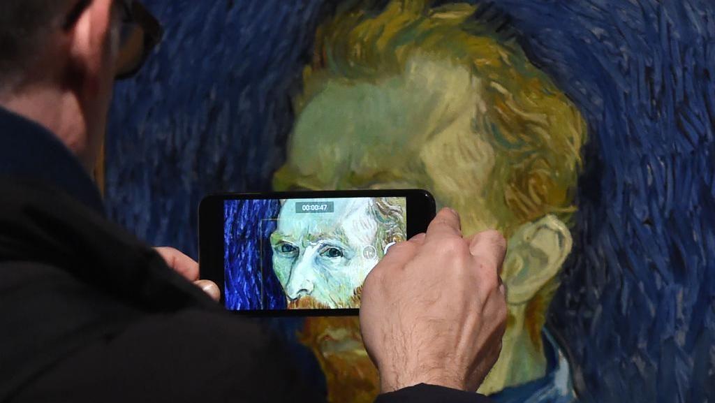 Karya Van Gogh Dipamerkan Lagi di Tempat Terakhir Ia Melukis