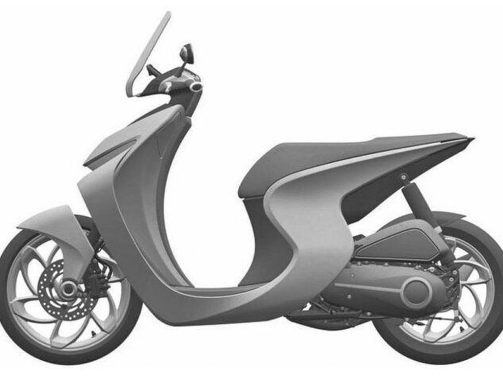 Sporty Banget, Ini Penampakan Desain Calon Skutik Honda