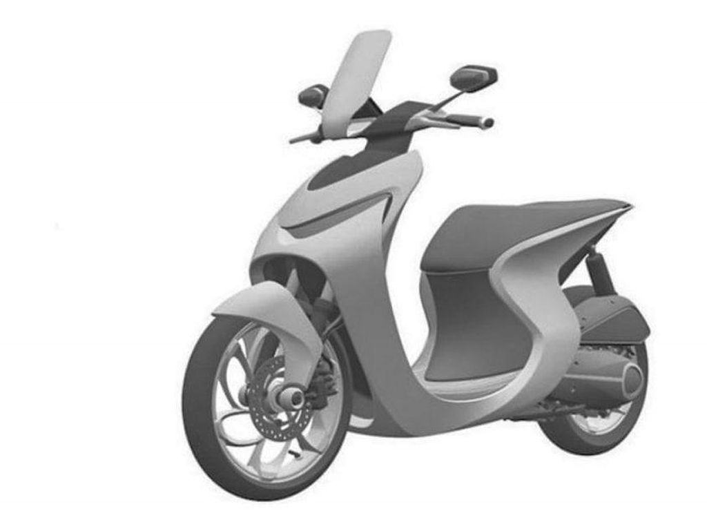 Calon Skutik Baru Honda Punya Desain Serba Melekuk