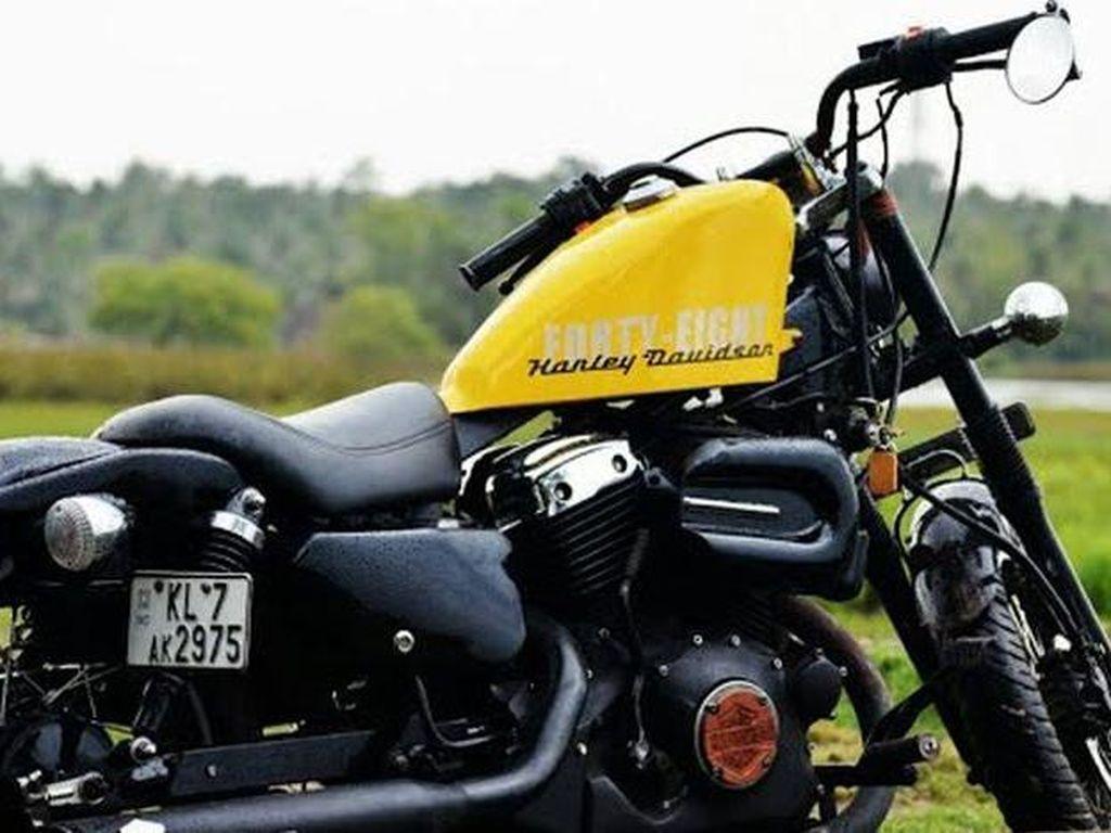 Bukan Harley-Davidson, Ini Hampir-Davidson Bermesin 125 cc