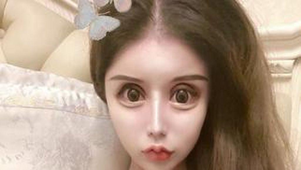 Wanita Ini Bak Boneka Setelah 60 Kali Oplas, Wajah Aslinya Bikin Kaget