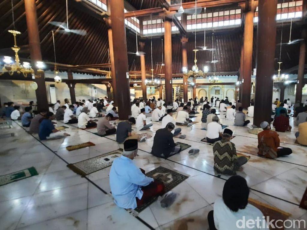 Masjid Gedhe Kauman Yogya Gelar Salat Idul Adha dengan Protokol Kesehatan