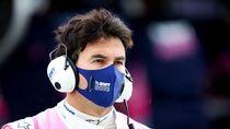 Sergio Perez, Pebalap F1 Pertama Positif Virus Corona