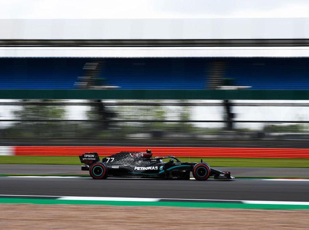 Mercedes Kuasai FP3 GP Inggris, Bottas Tercepat Disusul Hamilton
