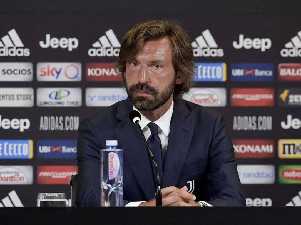 Andrea Pirlo Jadi Pelatih Baru Juventus