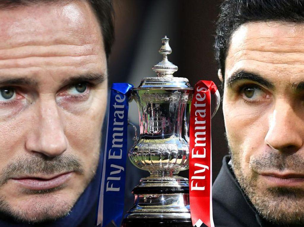 Road fo Final Piala FA: Arsenal vs Chelsea