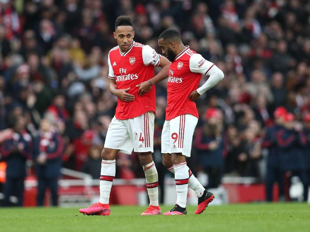 Aubameyang Bertahan di Arsenal, Bromance-nya Bilang Begini