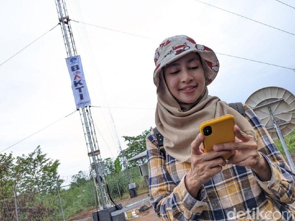Mempersatukan Indonesia dengan Sinyal 4G