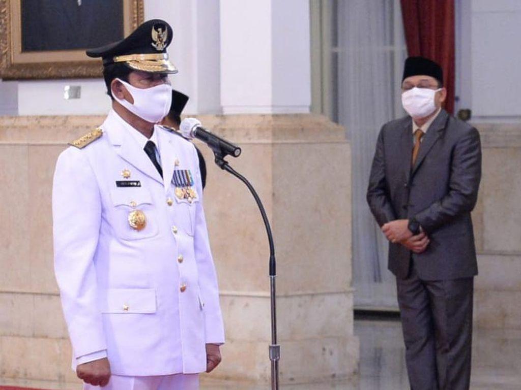 Istana: Gubernur Kepri Negatif Corona Sebelum Dilantik Presiden