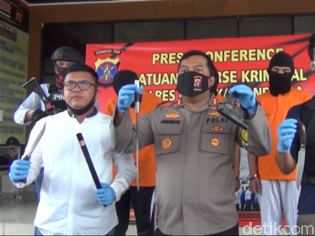Hendak Rampok Toko Emas di Kukar, 3 Pelajar Bersenpi Replika Ditangkap