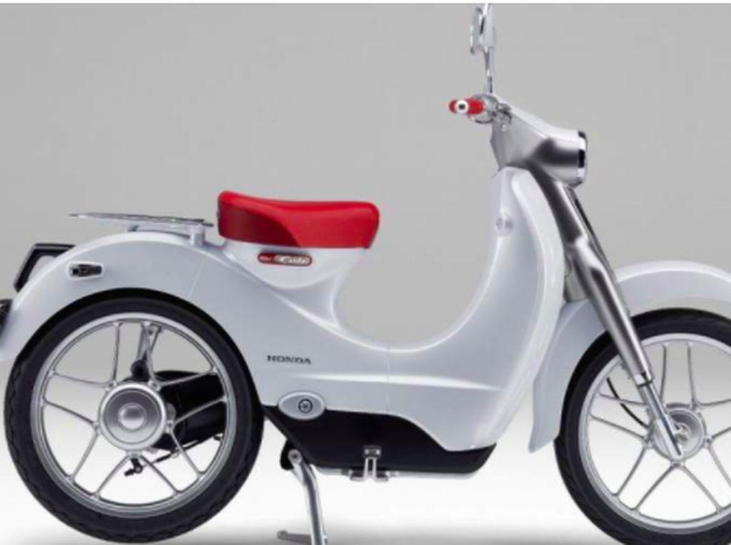 Keren Nih, Honda Siapkan Si Klasik Super Cub Jadi Motor Listrik