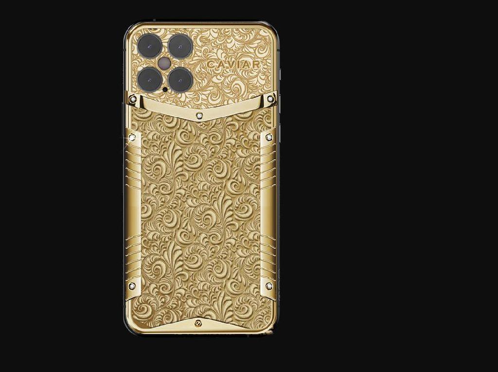 Belum Dirilis, iPhone 12 Pro Bertahta Emas Dibanderol Selangit