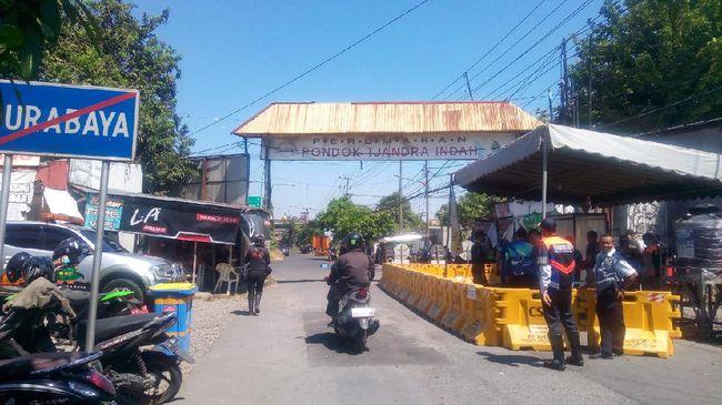 Ditutup Dampak COVID-19, Jalan Rungkut Menanggal Surabaya Kembali Dibuka
